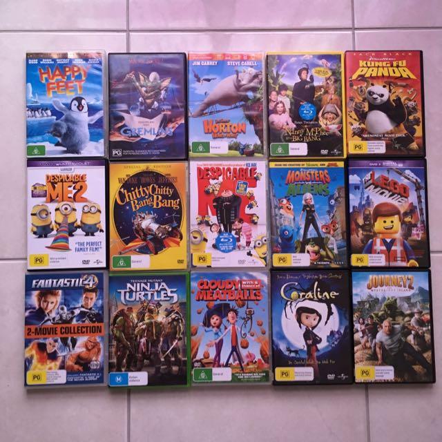 DVDs - Children's