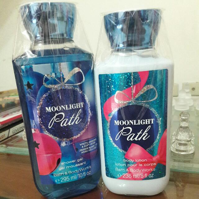 Bath & Body Works - Lotion and Shower Gel