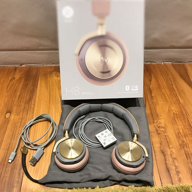 8a18595f9d7 B&O PLAY by Bang & Olufsen Beoplay H8 Wireless On-Ear Headphone with ...