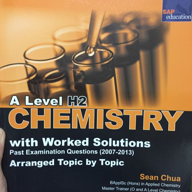 CHEMISTRY BOOKS A LEVELS