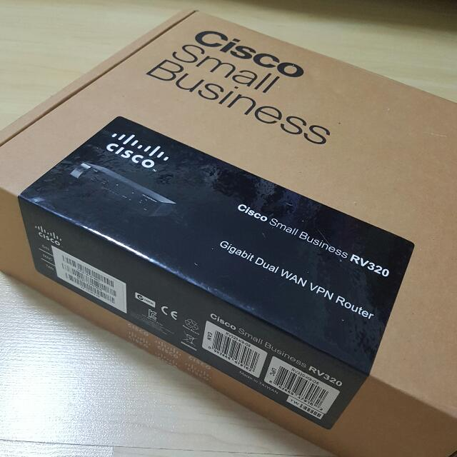 Cisco RV320 Dual Gigabit WAN VPN Router, Electronics