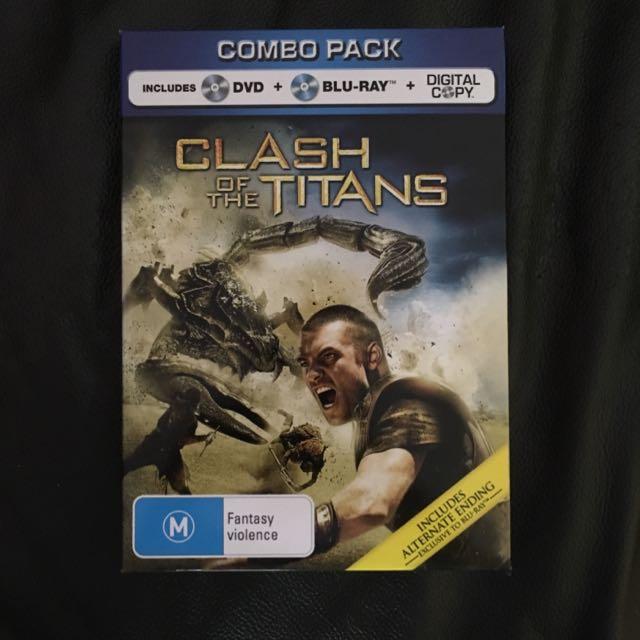 Clash Of The Titans Blu Ray