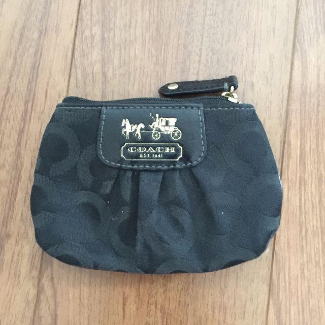 COACH coin pouch wallet
