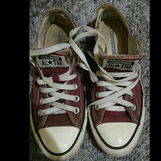 Converse low maroon ORIGINAL Authentic