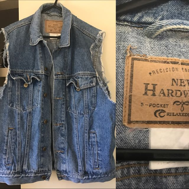 Denim Vest (Authentic denim)