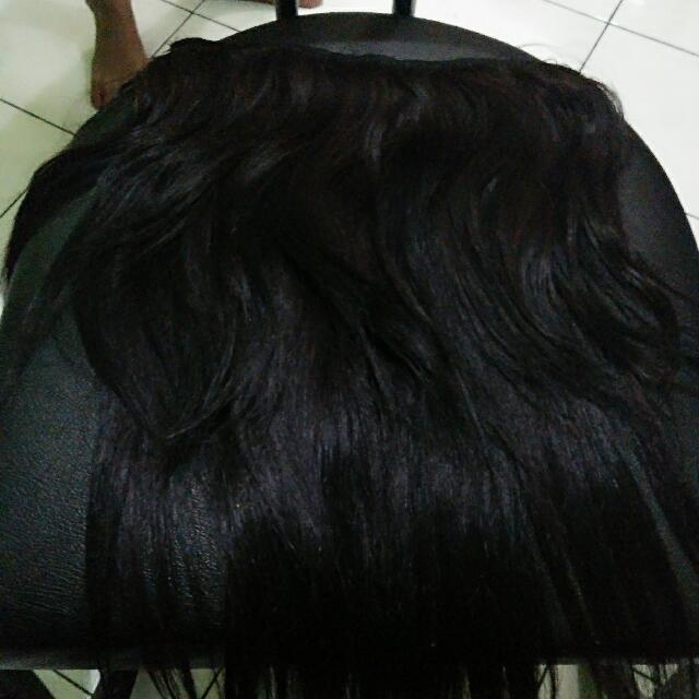 Di Jual Herklip Rambut Asli Bukan Sintetis,model Rambut Segi ,bagus Bagus Kalo Pas Di Kerli,ini Rambut Asli Bukan Sintetis Yah ,udah Di Modif Jdi Segi Model Nya,ada 3 Susun Rambut Nya,rambut Nya Sangat Halus Banget Nurut Banget Gak Akan Menyesal All