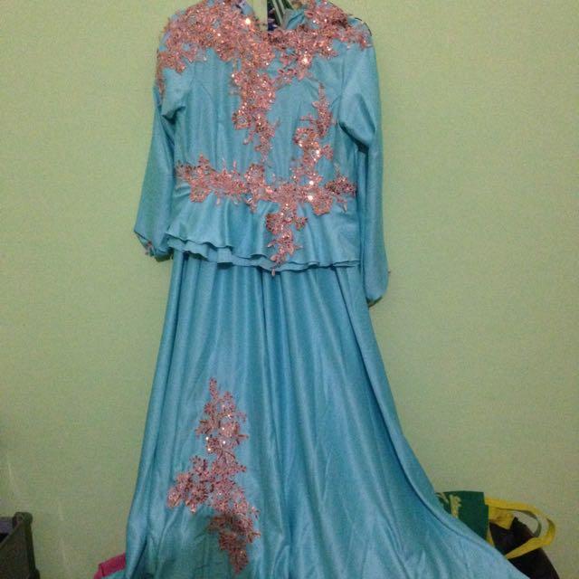 Dress Pesta Hijab Olshop Fashion Olshop Wanita On Carousell