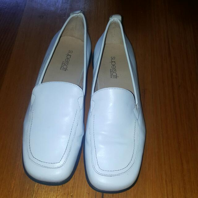 Easy Steps White Shoes