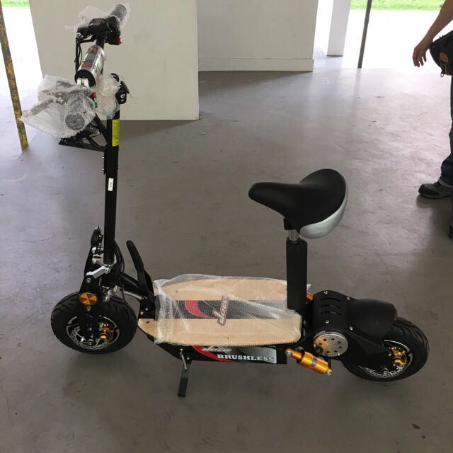 evo 2000w 60v escooter electric scooter new limited stock. Black Bedroom Furniture Sets. Home Design Ideas