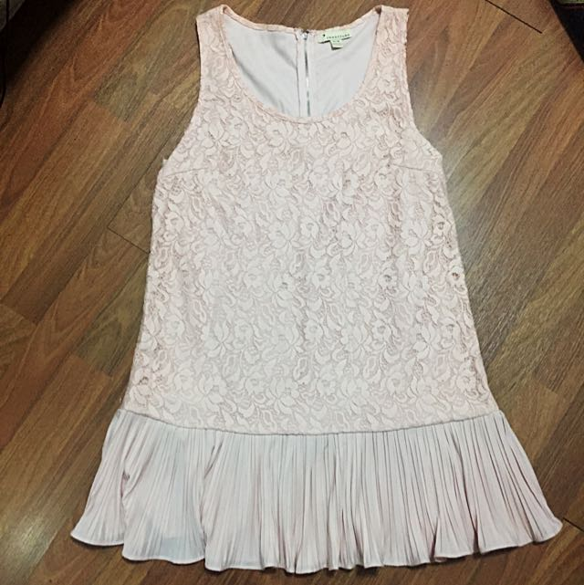 F21 Floral Laced Dress