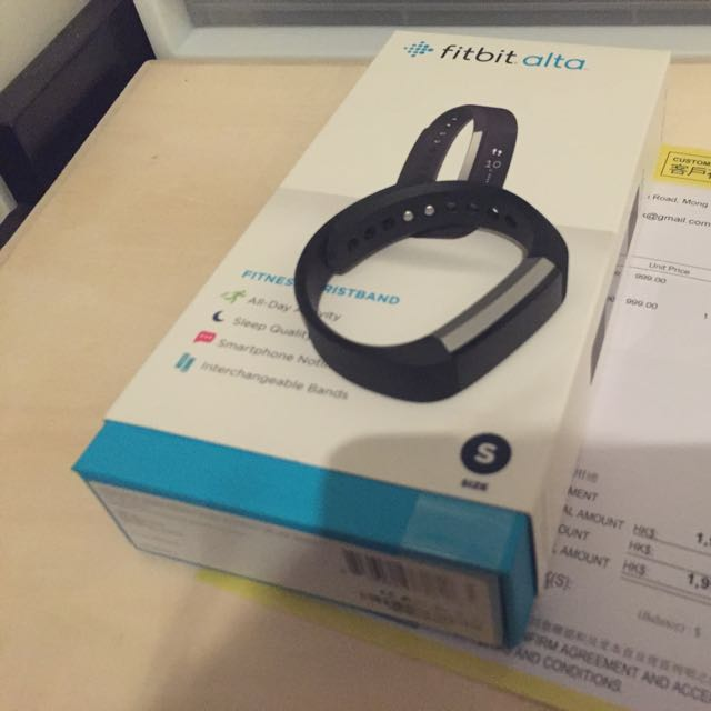 Fitbit Alta 運動手帶