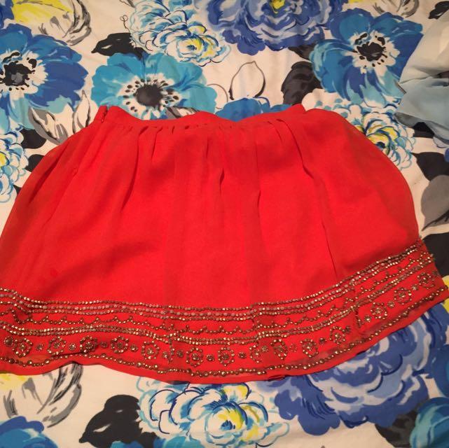 Forever New Size 10 Skirt