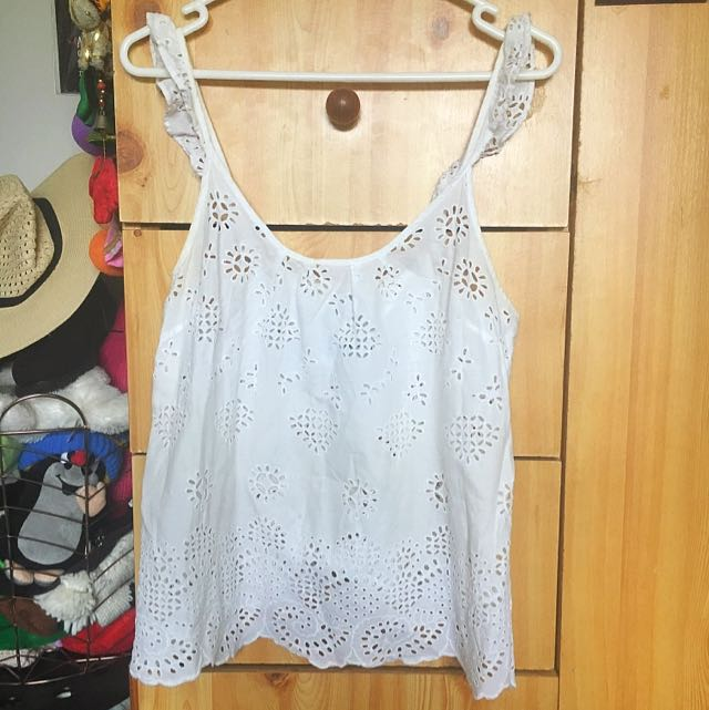 forever new white top size 8-10