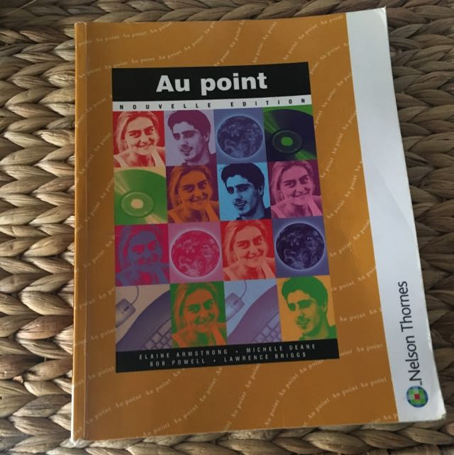 French Text Book - Au Point