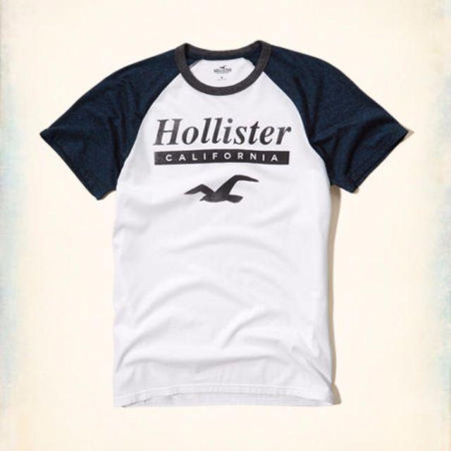 HCO海鷗短袖拼接兩色