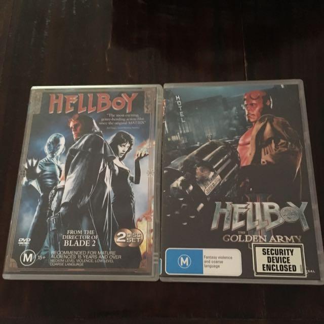 Hellboy 1 & 2