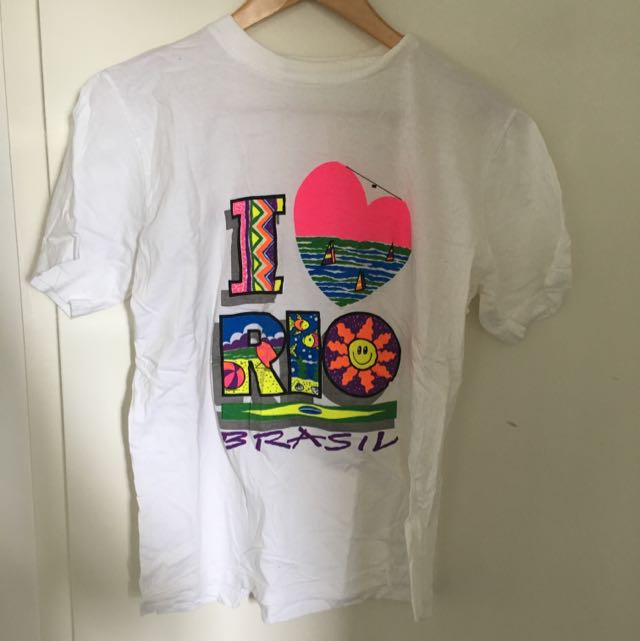 I Love Rio Tourist Shirt.