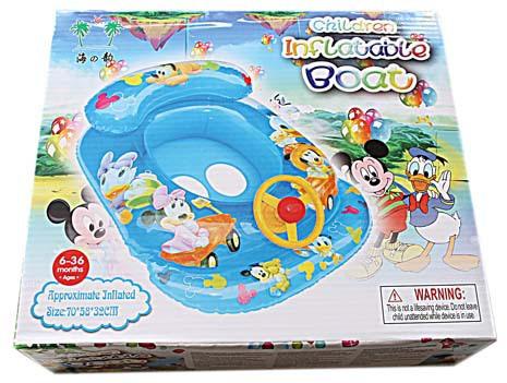 Inflatable Boat Mickey / Pelampung Ban