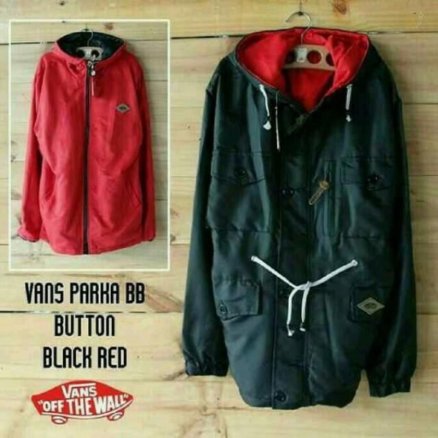 Jaket Parka Man 2in1