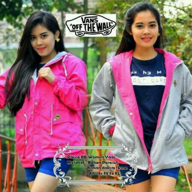 Jaket Parka Woman 2in1