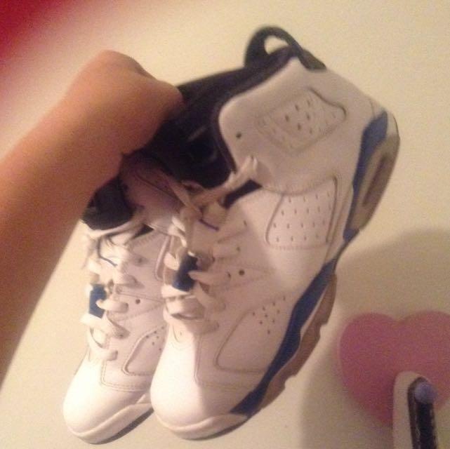 Jordan Sport Blue 6s