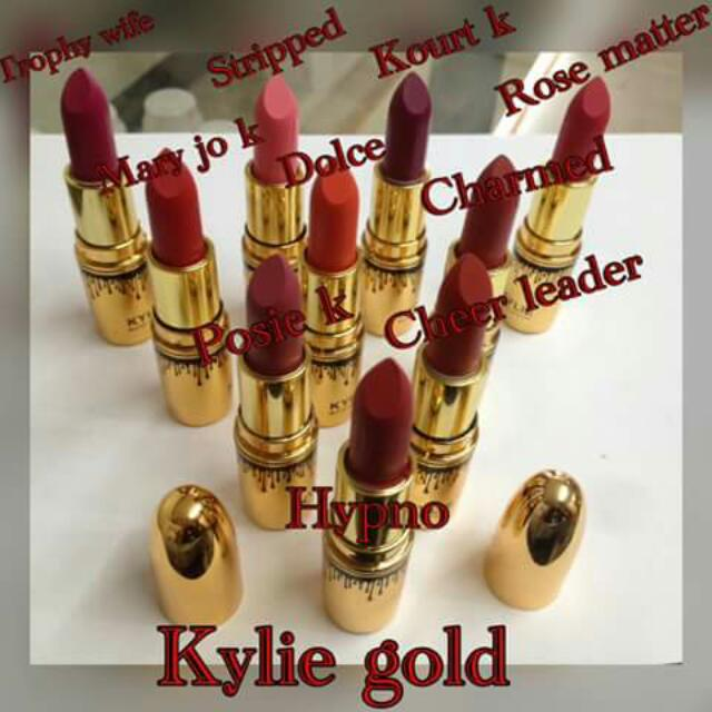 Kylie Lipstick Gold