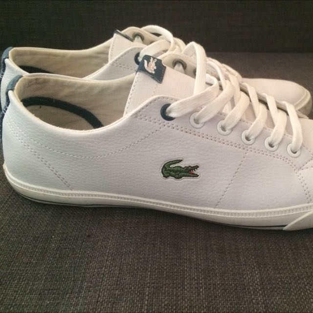 Lacoste White Runners