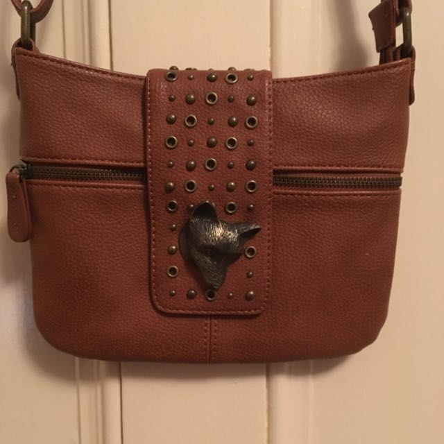 Leather Hibou Purse