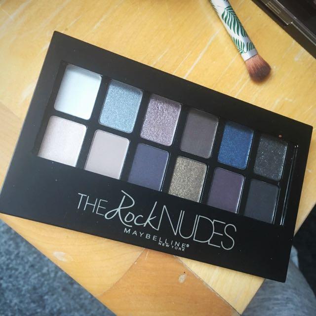 Maybelline Eyeshadow Palette-The Rock Nudes