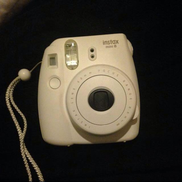 mini White Camera