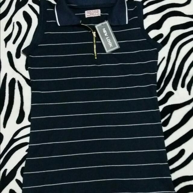 NEW LOOK stripe long blouse...