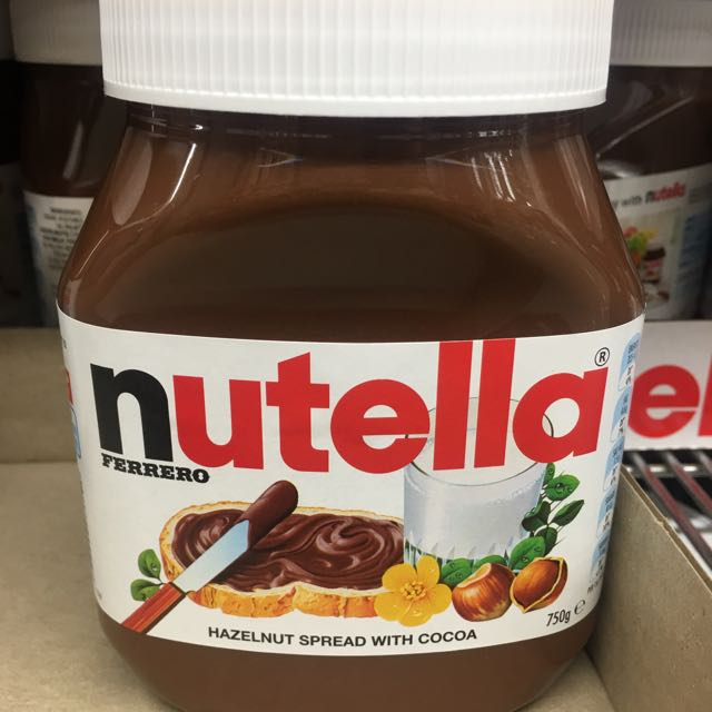 Nutella巧克力醬