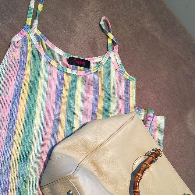 Pastel Striped Maxi