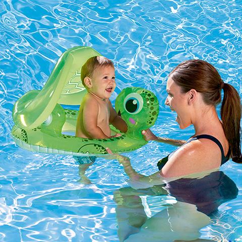 Pelampung Bayi Floating Turtle Bestway #34094