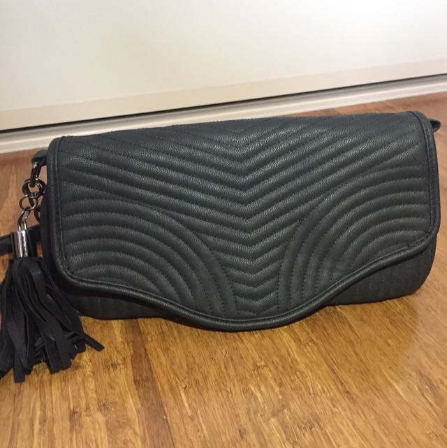 Portmans Black Shoulder Crossbody Bag