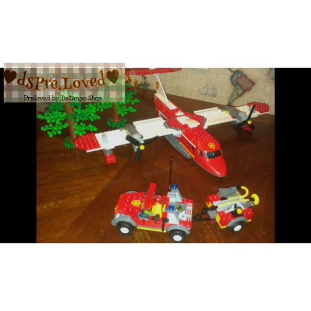 Preloved Lego Pesawat Set Fire Series