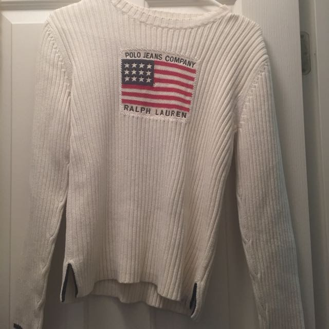Real vintage Polo Ralph Lauren knit