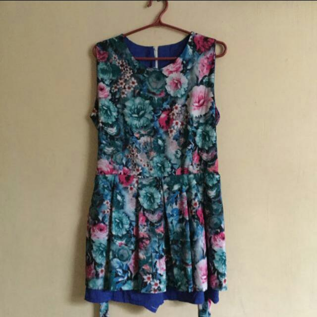 🎁REPRICED: Floral Skort Dress