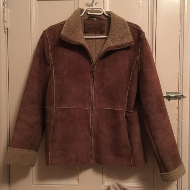 Roxy Sheepskin Jacket