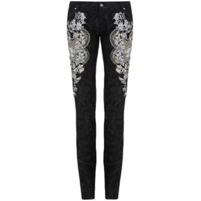 Sass & Bide Right And Wrong Embroidered Jeans