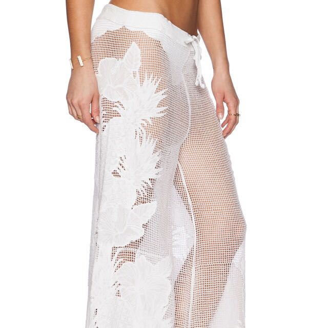Seafolly Illusion Pant In White