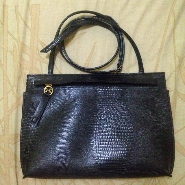 Shiq Zara Sling Bag Black