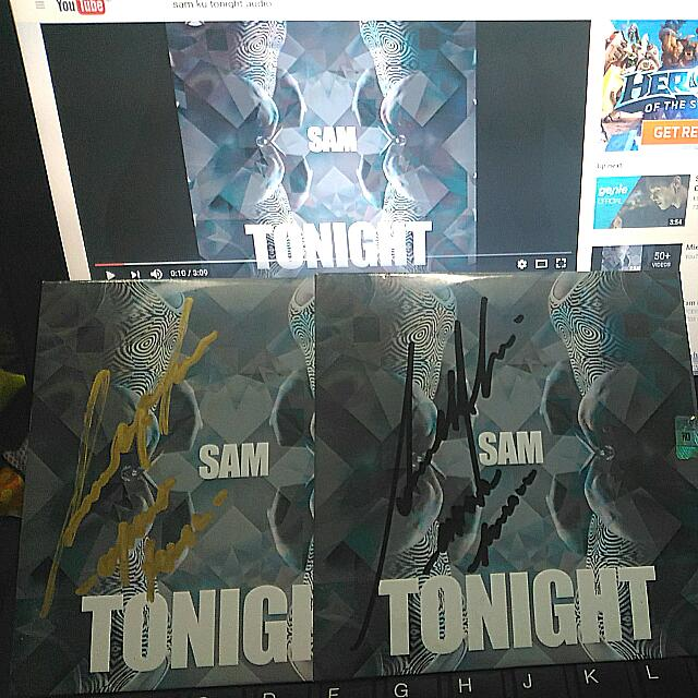 Signed CD K-pop Samuel Ku