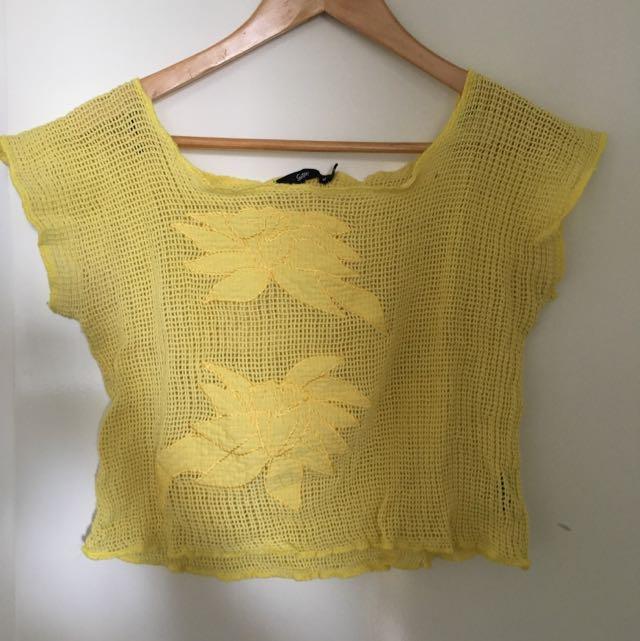 Sportsgirl Knitted Crop