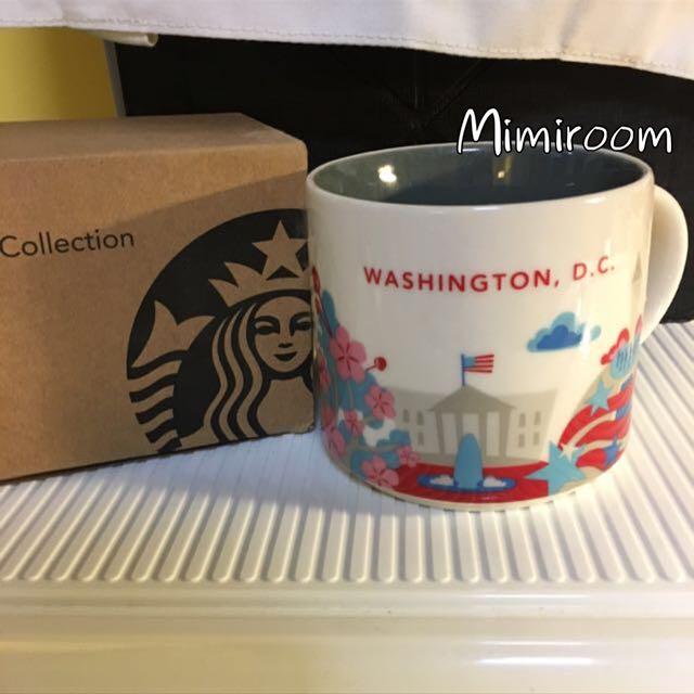 🍄STARBUCKS 星巴克 美國 華盛頓 WASHINGTON 城市杯 馬克杯 限量 14oz 新款