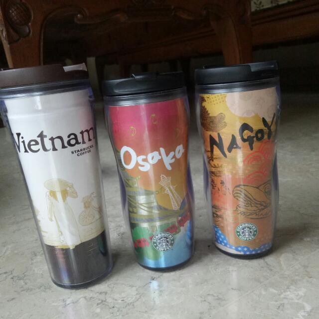 Starbucks tumblr VIETNAM , OSAKA , NAGOYA