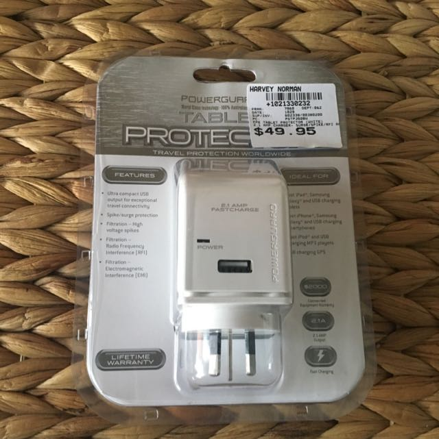 Tablet Protector Charging Port