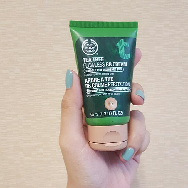 The Body Shop Tea Tree Flawless BB Cream, Shade : 02