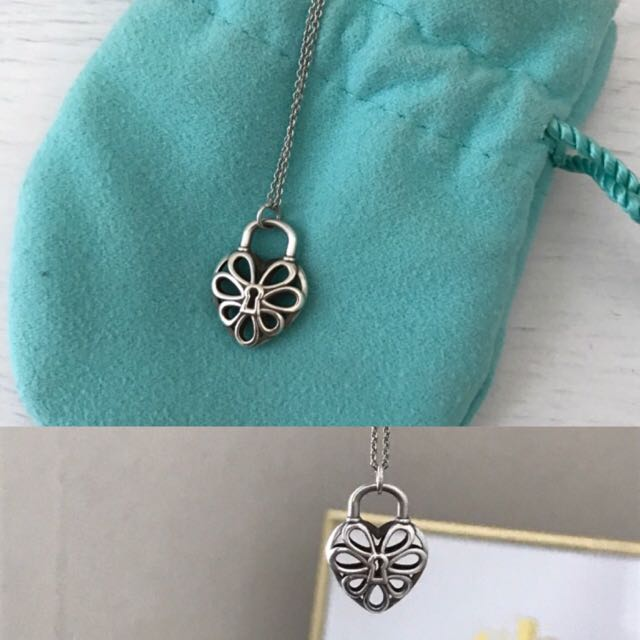 Tiffany Heart pendant with chain
