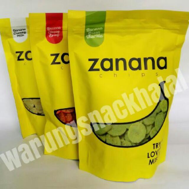 ZANANA banana snack